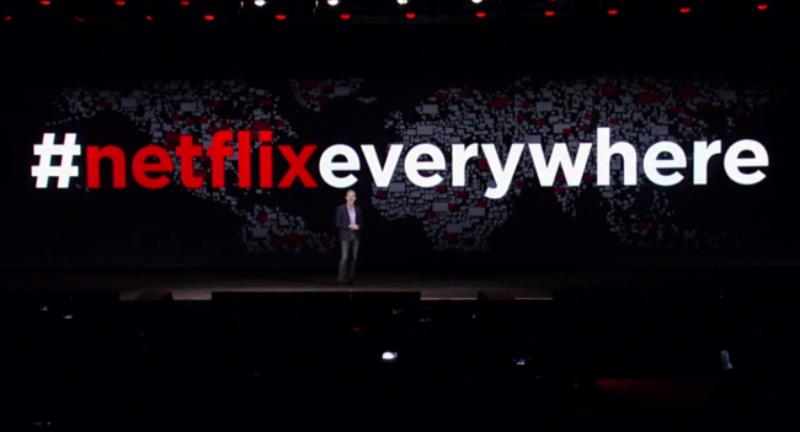 Netflix está disponible en más de 130 países
