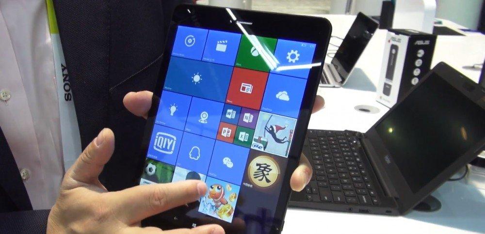 Pipi U8T con Windows 10 Mobile en el CES 2016