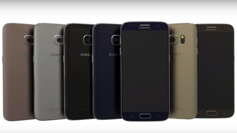 Render conceptual de los Galaxy S7