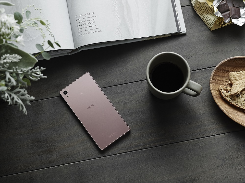 Sony Xperia Z5 rosa 2
