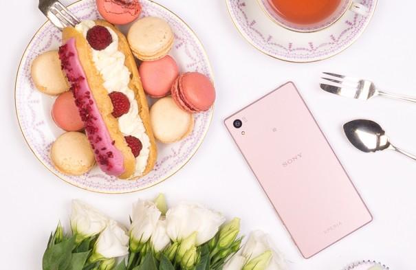 Sony Xperia Z5 rosa 3