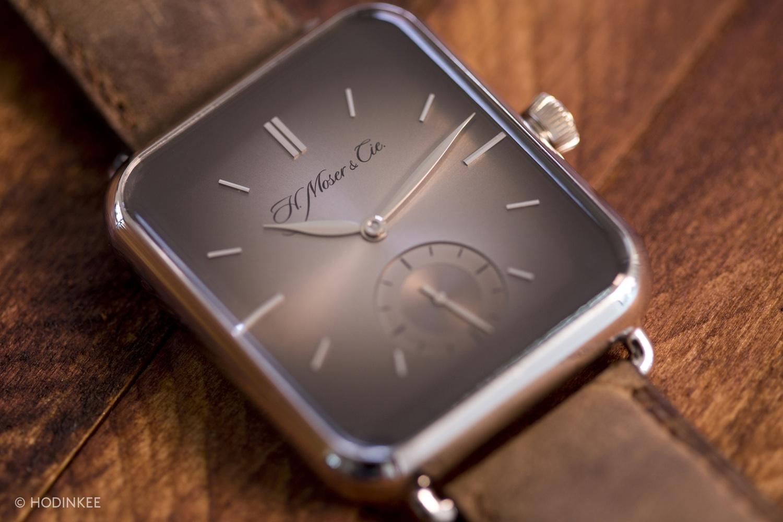 El Swiss Apl Watch es idéntico al Apple Watch...pero en elegante
