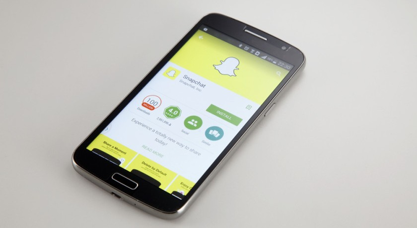 actualizacion snapchat llamadas audio video