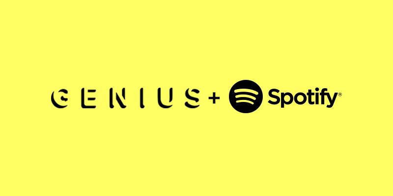 Spotify y Genius se alían