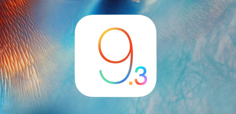 iOS 9.3 beta ya está disponible públicamente