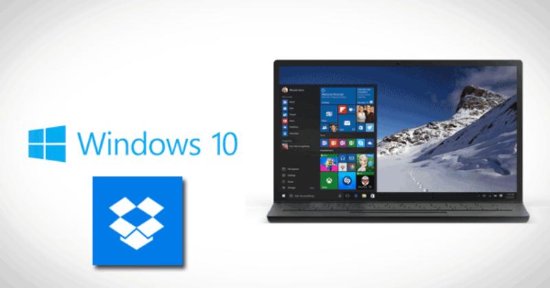 Windows 10 ya cuenta con una app universal de Dropbox