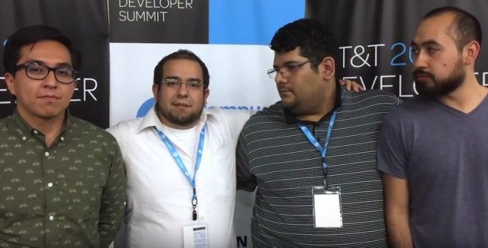 ganadores hackathon at&t Guadalajara