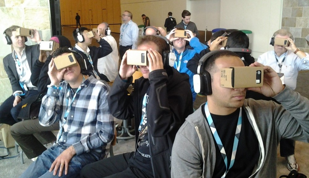 Un nuevo visor de realidad virtual de Google está en camino
