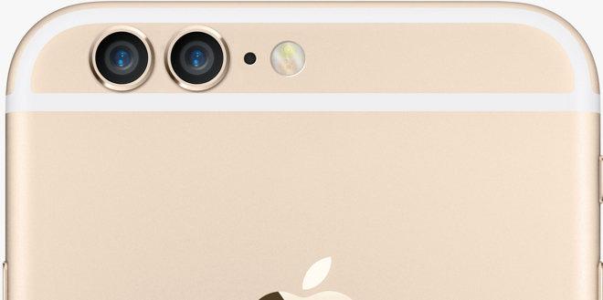 Render conceptual de iPhone con doble cámara trasera