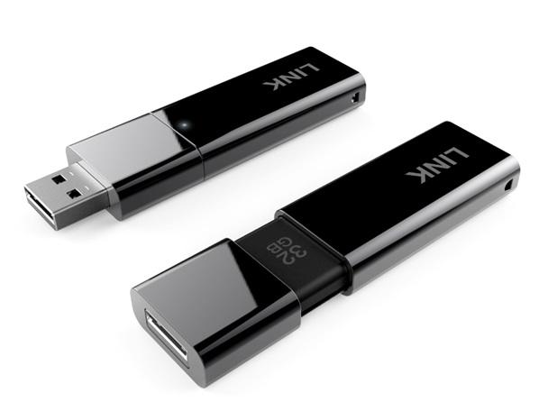 El LINK también es una unidad de memoria Flash de 32GB