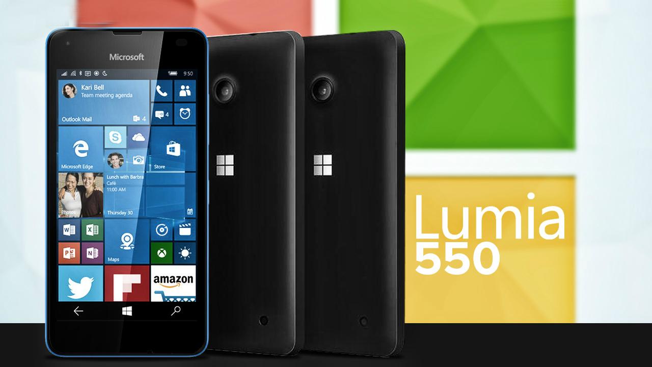 Microsoft Lumia 550 llega a México