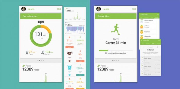 s-health-samsung app