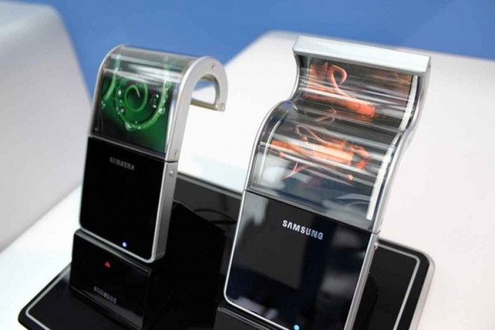 samsung display oled flexible