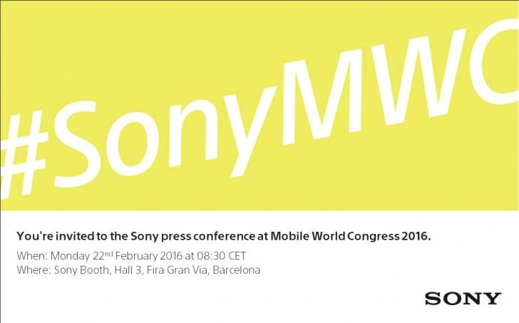 sony conferencia prensa mwc 2016