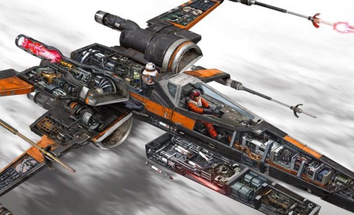 X-Wing de la resistencia