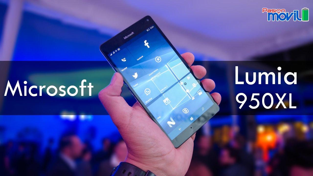 Te presentamos el unboxing del Lumia 950 XL por Pasión Movíl