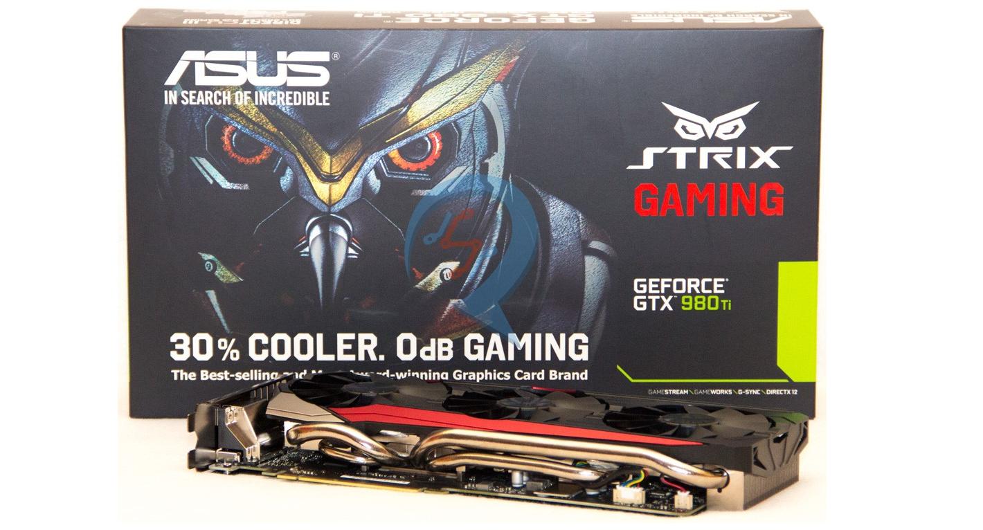 ASUS Strix 980Ti es la GPU más potente