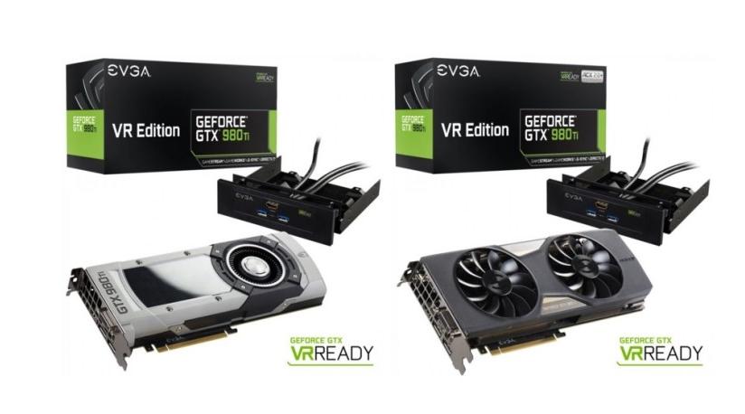 EVGA GeForce GTX 980Ti VR Edition