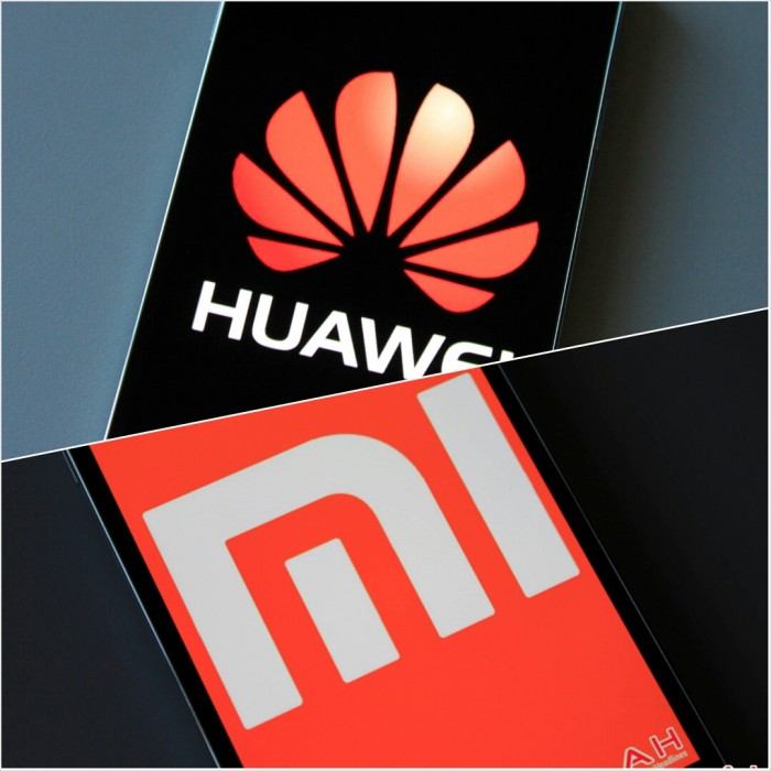 Huawei-Xiaomi smartphones