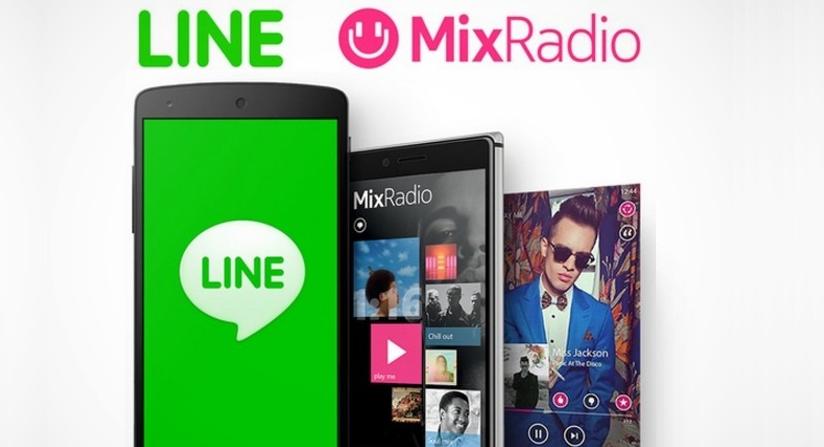 MixRadio no tuvo éxito como esperaba LINE