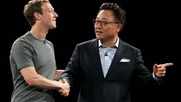Mark Zuckerberg y Jong-Kyun Shin