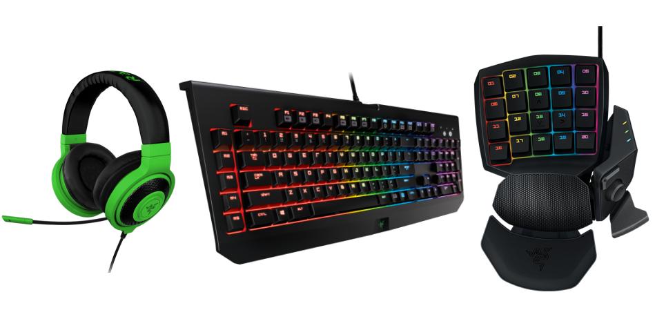 Algunos productos de Razer son el regalo ideal para gamers