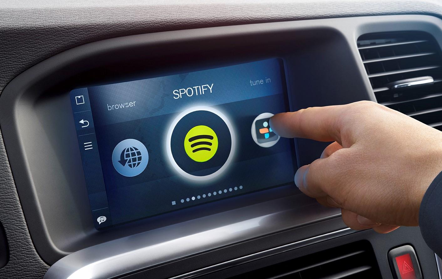 Spotify será integrado en el Volvo XC90, S90 y V90
