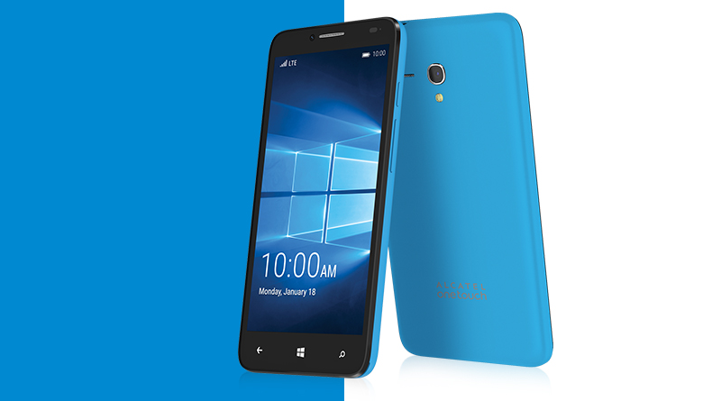 Alcatel apostará por la gama alta con Windows 10 Mobile