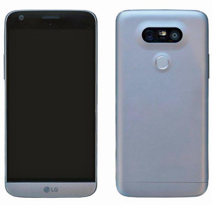 Nuevos renders filtrados del LG G5