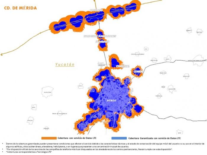 mapa 4g at&t