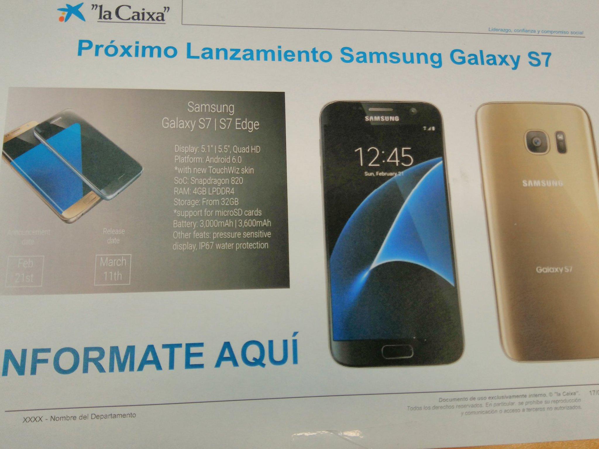 samsung Galaxy-S7-specs-fecha venta