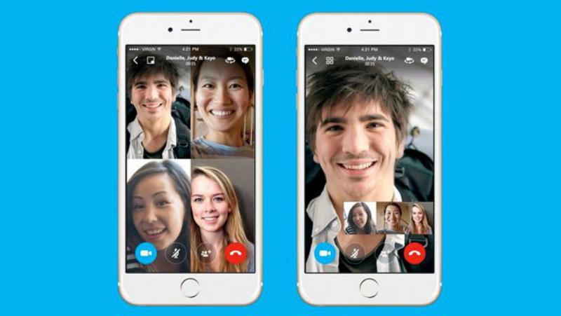 Skype apuesta por las videollamadas grupales en móviles