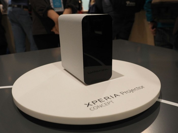 sony Xperia-proyector