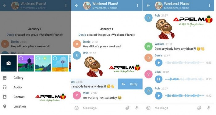 telegram nuevo