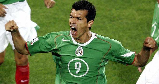 Jared Borgetti participará entre las Leyendas de la Selección Mexicana