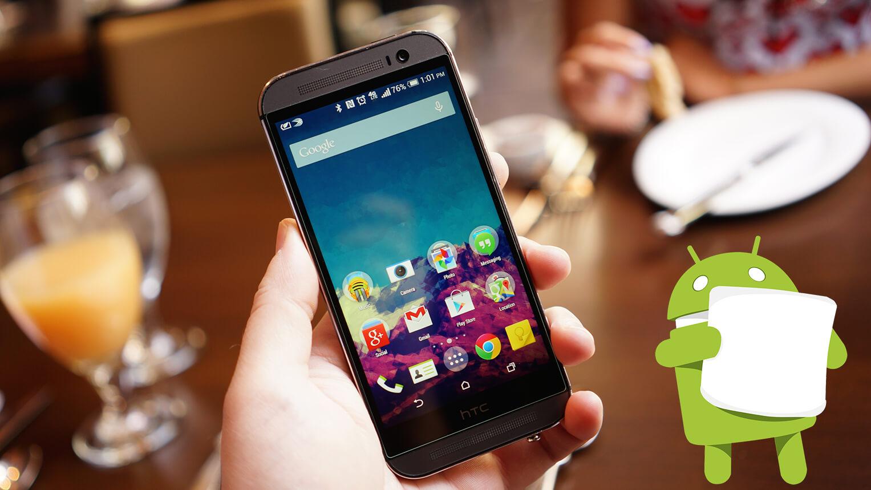 HTC One M8 Eye ya disfruta de Marshmallow
