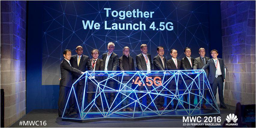 Huawei-GigaRadio-base-station para redes 4.5G