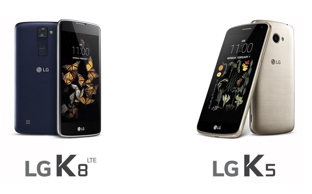 LG continúa ampliando la línea K