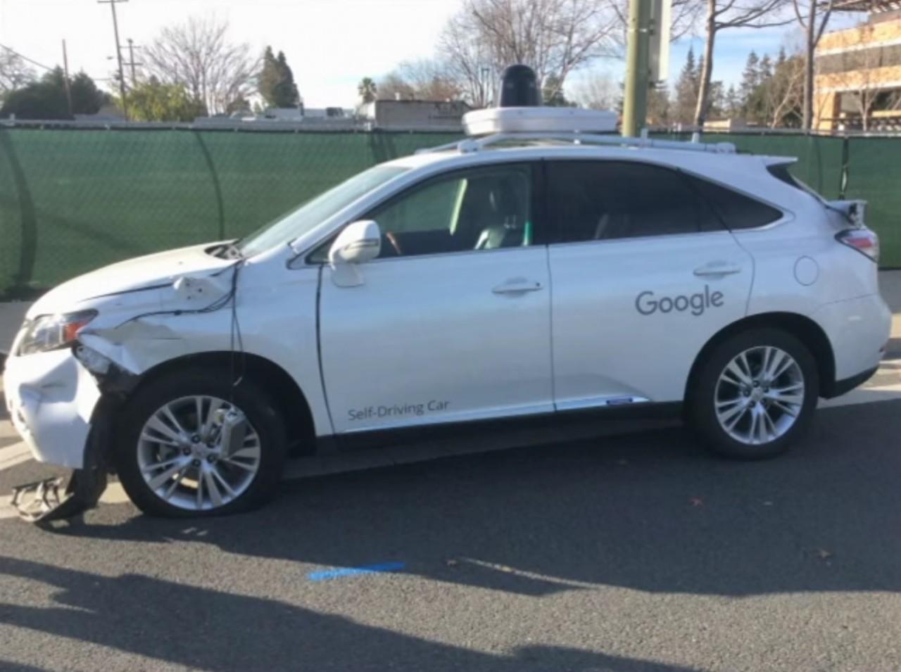 Así terminó el Lexus de Google