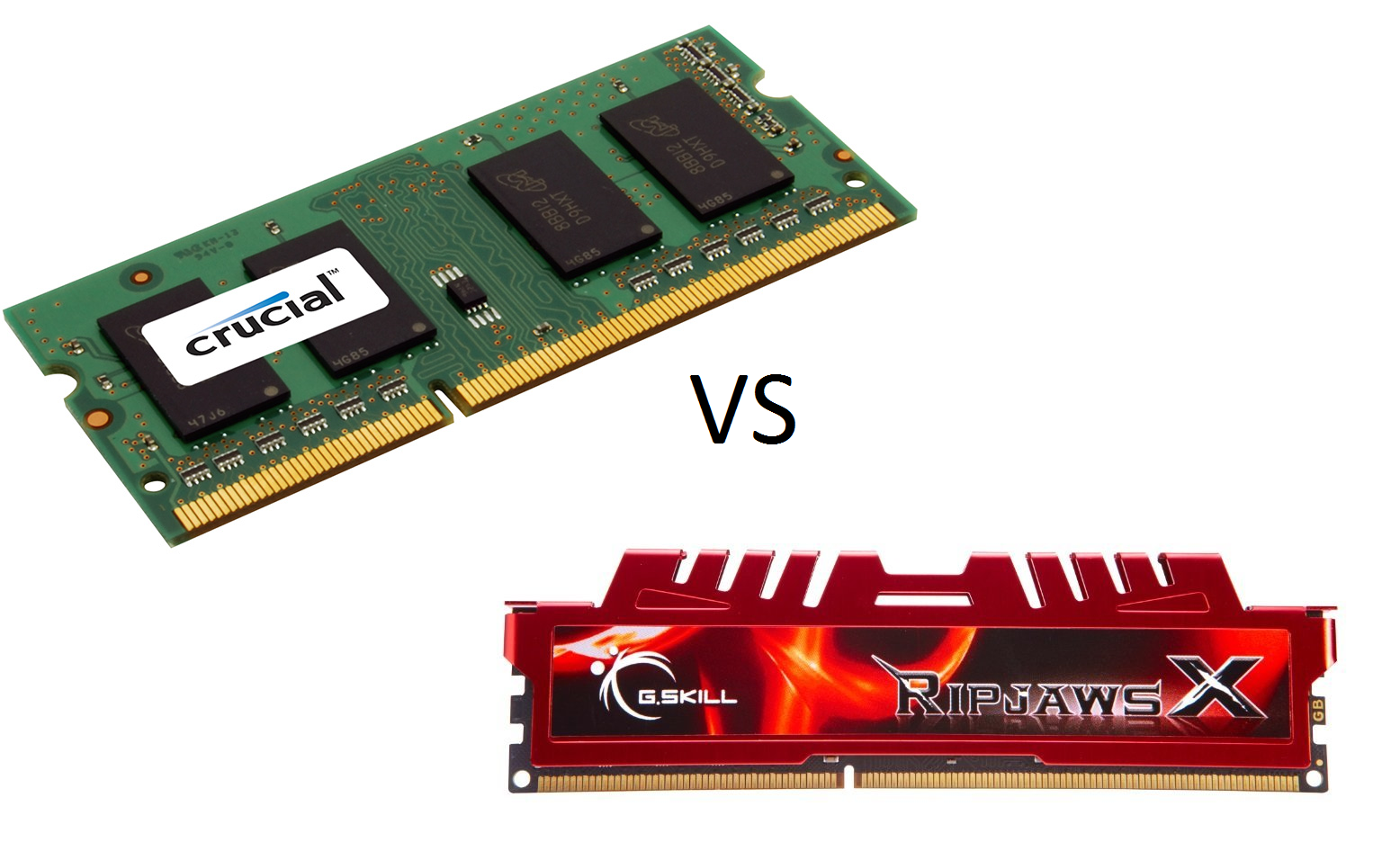 Memorias RAM basicas vs de alto desempenio