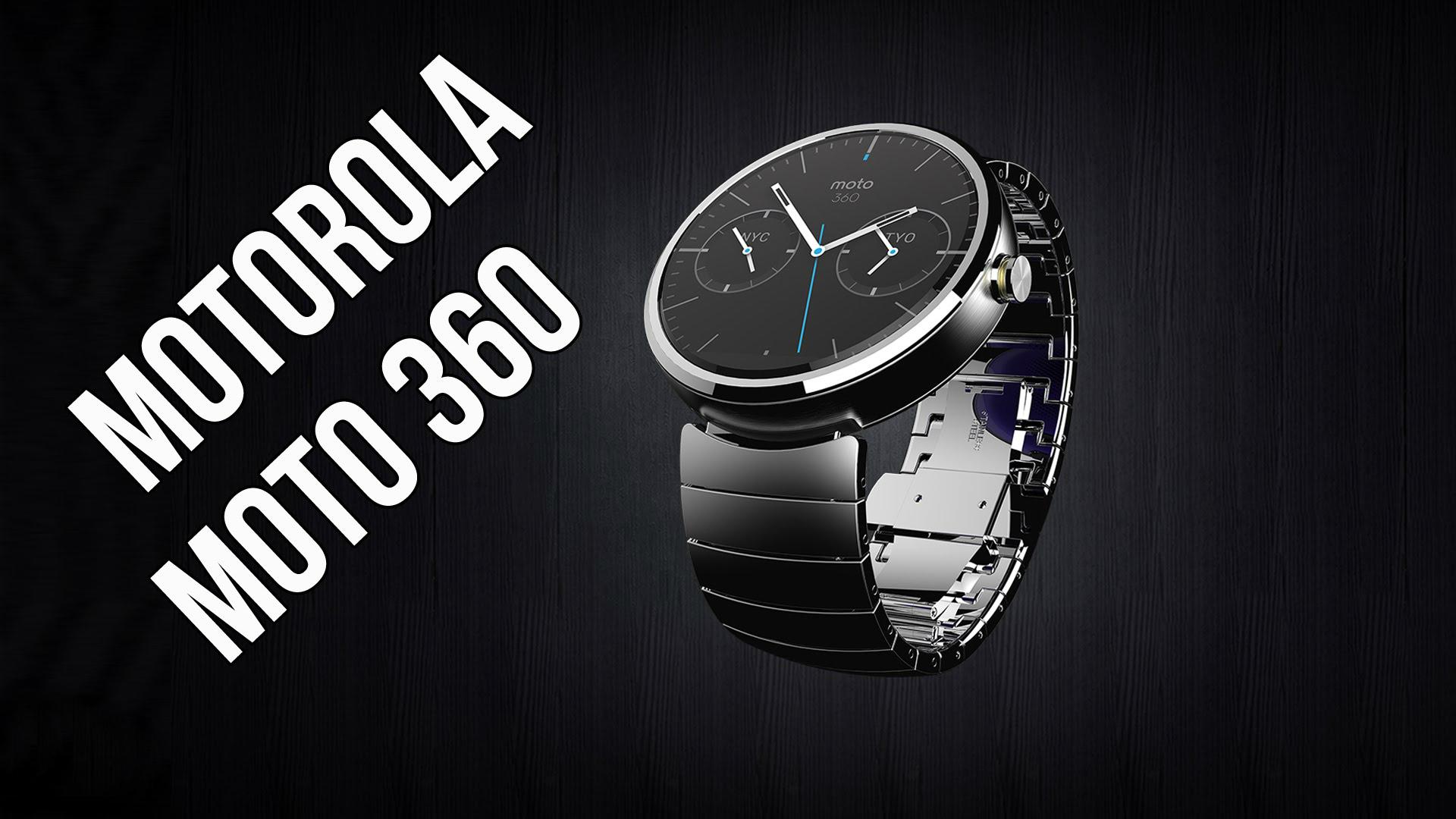 Moto 360 (2015) personalizado con correa metálica