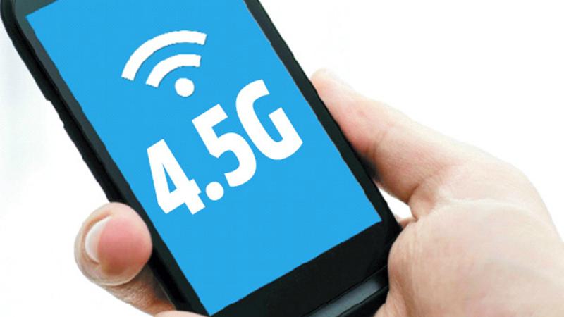 Las redes 4.5G ofrecerán velocidades de hasta 1 Gbps