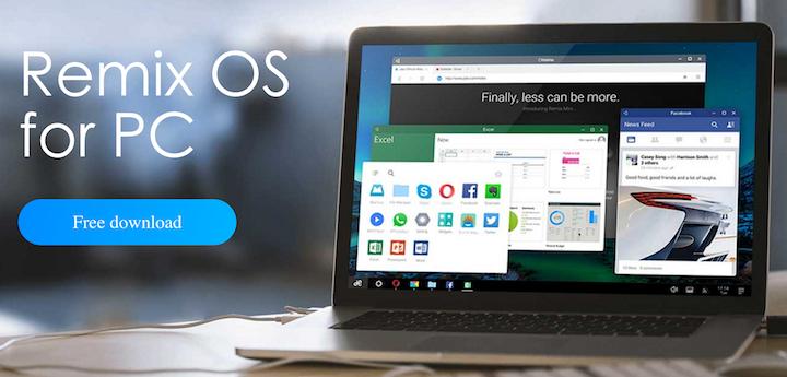 Remix OS Beta para PC ya está disponible