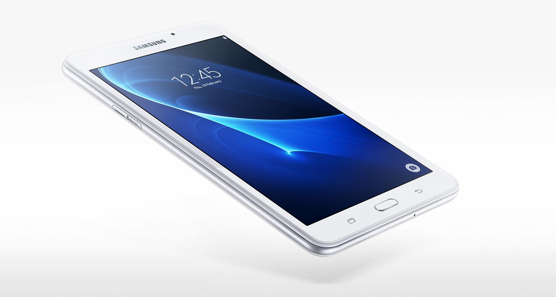 Así es el diseño de la Galaxy Tab A (2016)