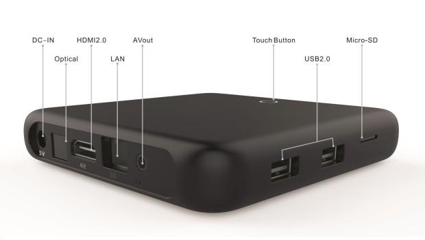 Unuiga S905 puertos