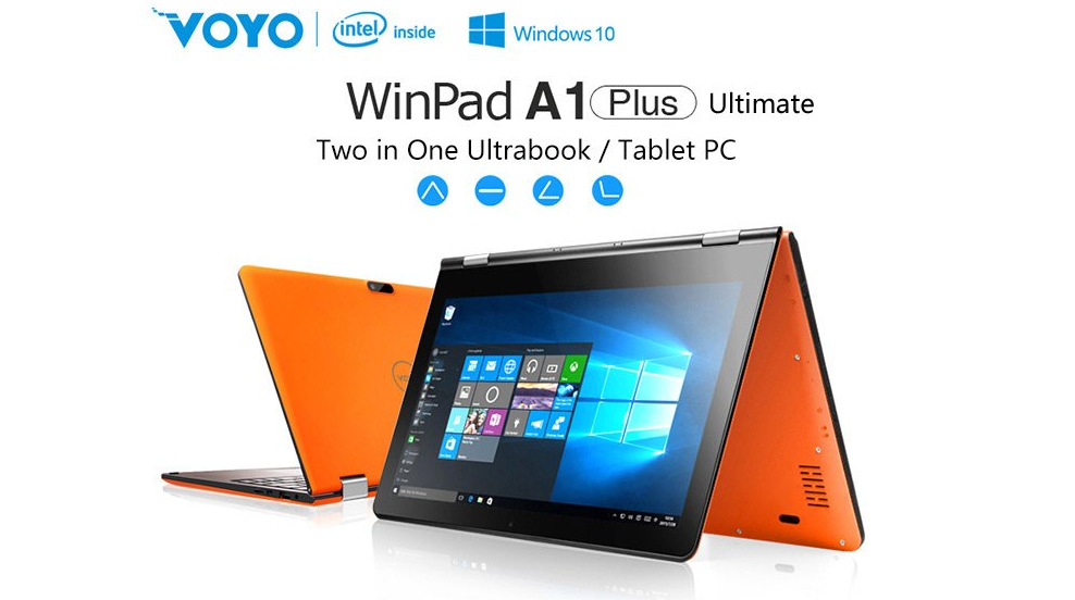 Voyo WinPad A1 Plus Ultimate, un económico ultrabook