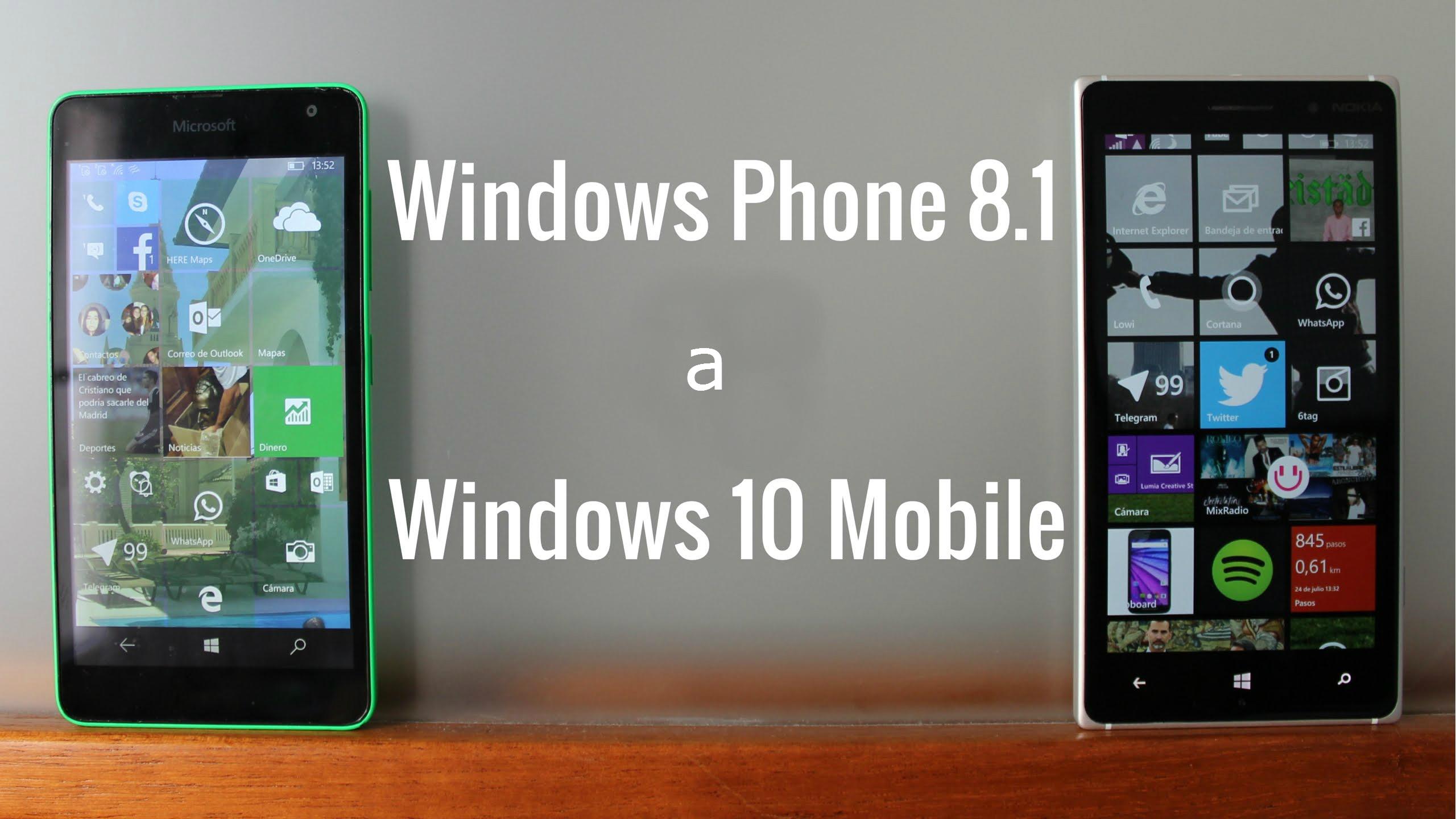 Actualiza fácilmente a Windows 10 Mobile con Upgrade Advisor