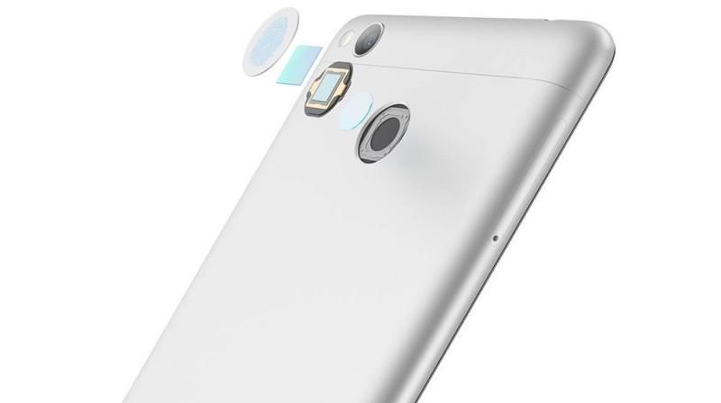 Sensor de huellas del Xiaomi Redmi 3 Pro
