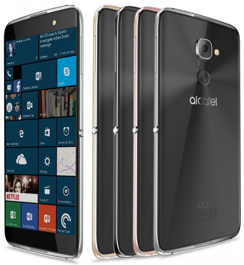 Alcatel Idol 4 Pro con Windows 10 Mobile