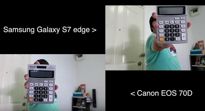 autoenfoque galay s7 vs canon EOS 70D